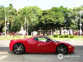 Ferrari 458 Spider 4.5 V8 F1-dct