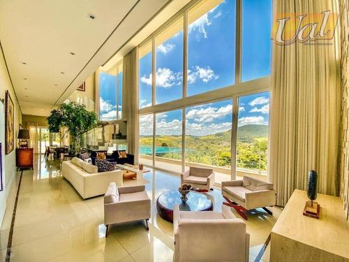 Sobrado Em Condomínio  Com 4 Suítes À Venda, 498 M² Por R$ 3.000.000 - Condomínio Osato - Atibaia/sp - So1153