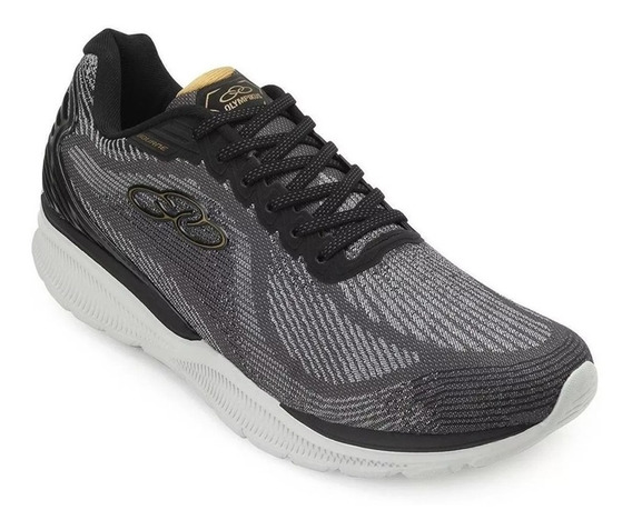 Zapatillas Olympikus Bourne Hombre Training Gris Oscuro