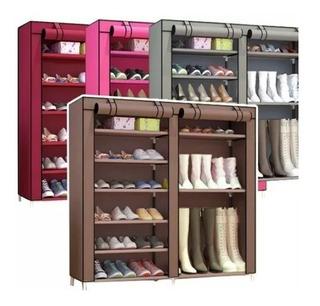 Organizador Zapatos Doble Fila Bota Estante Zapatero Calzado