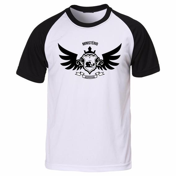 Camisa Camiseta Gospel Evangélica Intercessão Asas