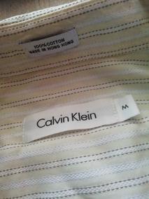 Camisa Calvin Klein Mancuernas