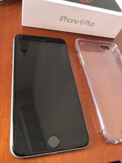 iPhone 6 Plus 64 Gb Con Estuches De Regalo Incipio Y Tech21