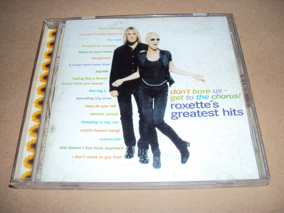 Roxette - Greatest Hits - Cd Nacional 1995