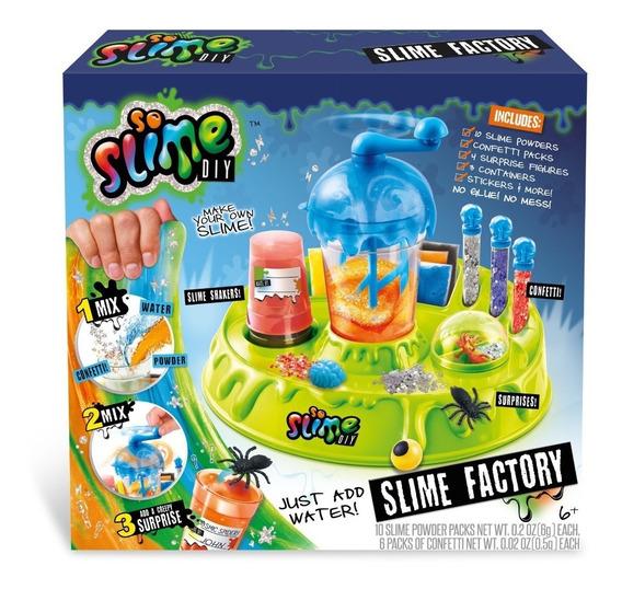 Brinquedo Fábrica De Slime So Slime Diy - Importado!