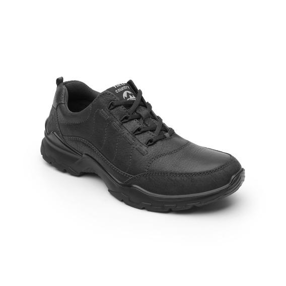 Zapato Flexi Country Outdoor Caballero 77805 Negro