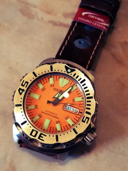 Seiko Monster 7s27-0350 Automatic Divers 200m Japan Citizen