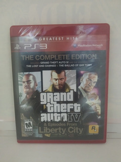 Grand Theft Auto 4 And Episodes From Liberty City