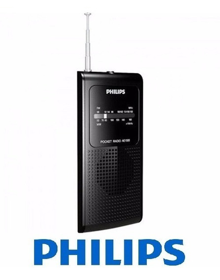 Rádio Philips Portátil Am/fm Ae-1500