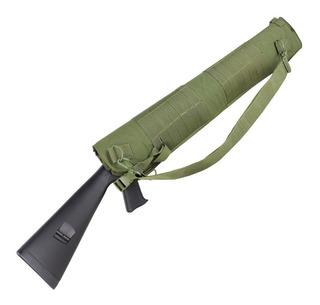 Funda escopeta Bolsa Bolsa para carabina 130/cm camuflaje MultiCam