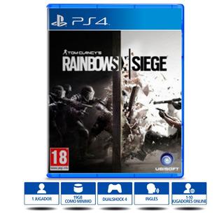 Tom Clancy´s Rainbow Six Siege Ps4 Disco Físico