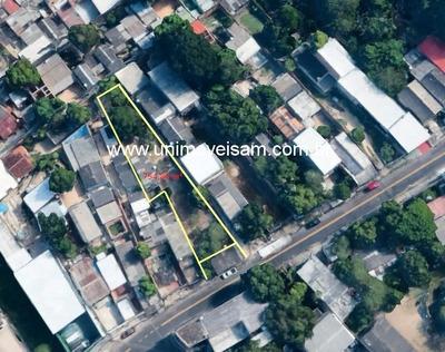 Terreno A Venda Com Área 754,80 M², Bairro Petrópolis, Manaus / Am. - Te00137 - 32310195