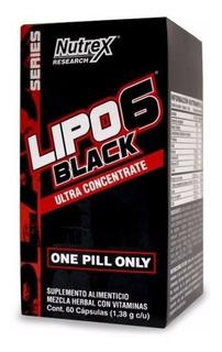 Lipo 6 Black Uc Nutrex (60 Capsulas) Super Oferta!