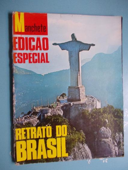 Manchete Edição Especial Retrato Do Brasil - 1968 - Pelé