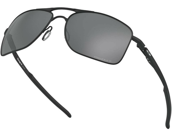 Lentes Oakley Gauge 8 Oo4124-0257 Mate Prizm Black Polarized
