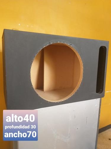 Caja Acústica O Cajón Para Bajo De 15