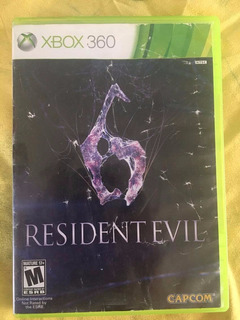 Resident Evil 6 Juego Xbox 360 Game