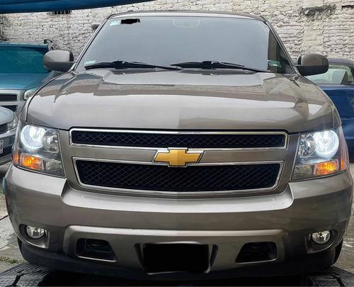 Imagen 1 de 10 de Chevrolet Tahoe D Suv Piel Cd 2a Fila Asientos At 2012