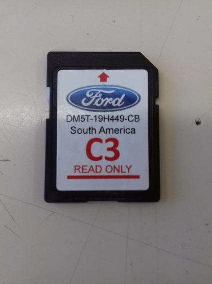Cartão Sd P/ Gps E Navegacão Ford Versão C3(dm5t-19h449-cb)