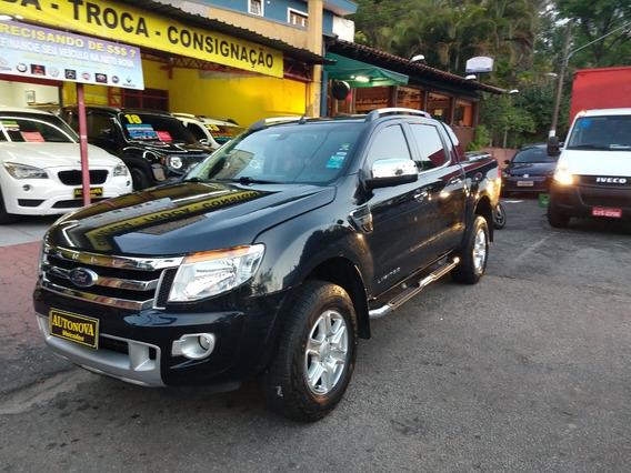 Ranger 2.5 Limited Flex 14/14 U.dono Couro Rodas Top Linha