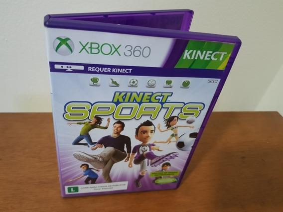 Kinect Sports Usado Original Nstc Xbox 360 Midia Fisica