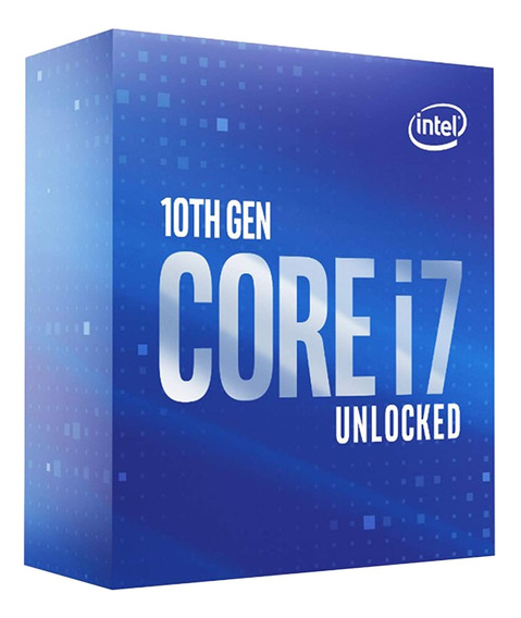 Procesador Gamer Intel Core I7 10700k Bx8070110700k 5.1ghz
