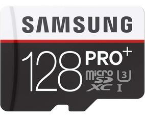 Cartão De Memória Samsung Pro+ 128gb Sdxc-i U3