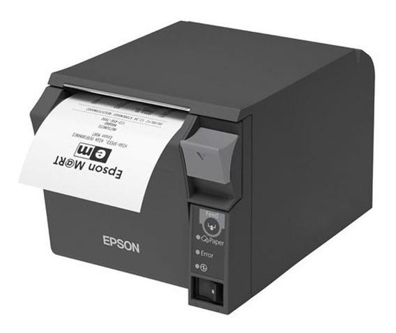 Impressora Epson Tm-t70 Guilhotina Qr Code Usb Abre Gaveta