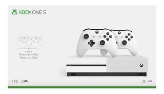 Consola Xbox One S 4k Ultra Hd Pes2020 + 2 Joystick Oficial