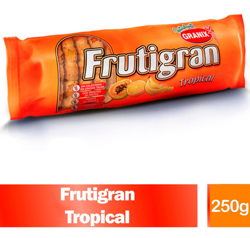 Galletitas Frutigran Tropical 255g Galletas Dulces Granix Gr