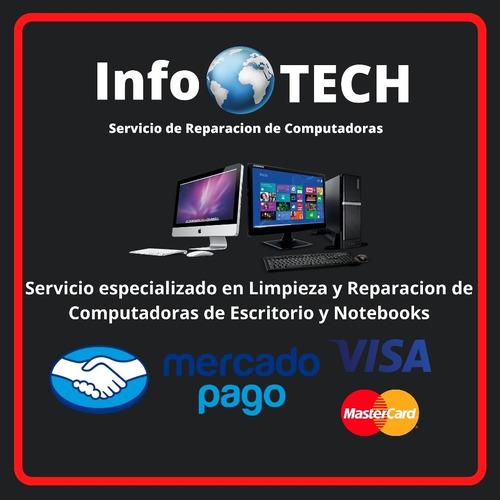 Imagen 1 de 1 de Servicio Tecnico Pc Infotech