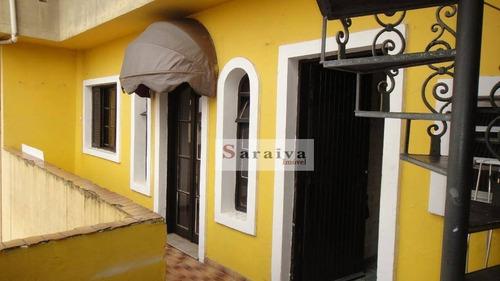 Sobrado Com 3 Dormitórios À Venda, 200 M² Por R$ 1.000.000 - Vila São João - São Bernardo Do Campo/sp - So1167