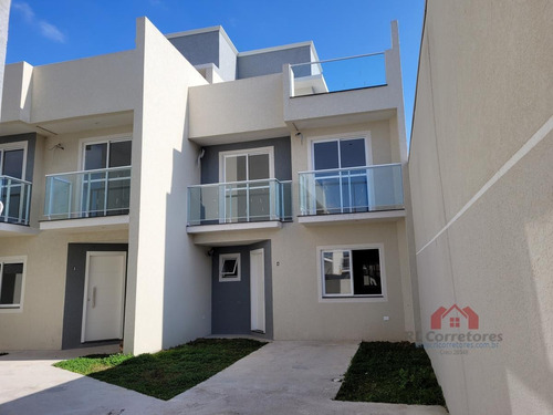 Sobrado Em Condomínio Para Venda Em Curitiba, Boqueirão, 3 Dormitórios, 1 Suíte, 3 Banheiros, 1 Vaga - So044_1-1623039