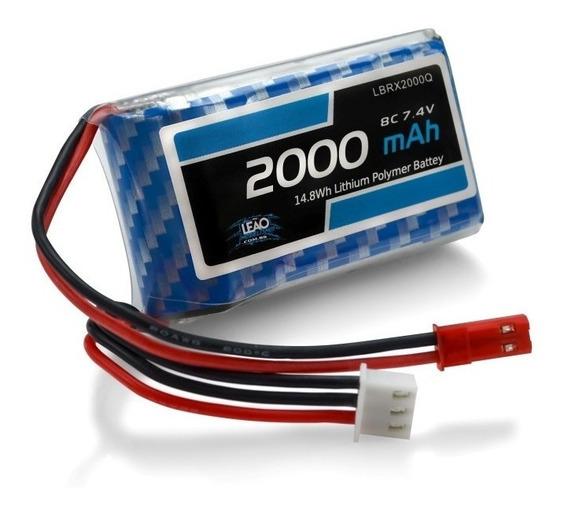 Bateria Lipo 7.4v 2000mah 8c Receptor / Radio Qx7 Taranis