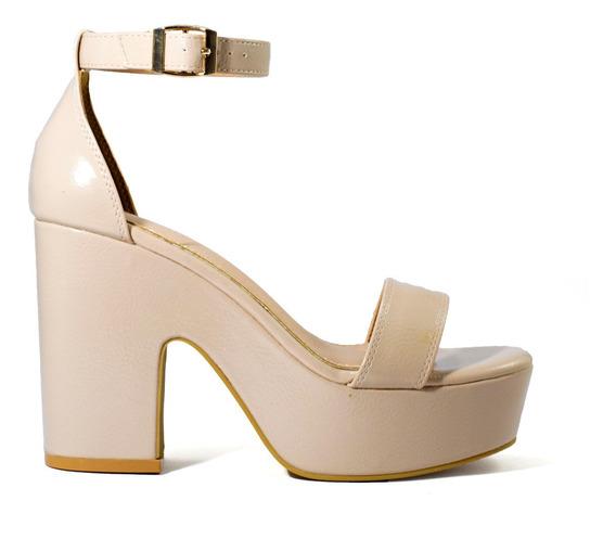 Zapatos Mujer Massimo Chiesa Sandalias Plataforma Y Talonera