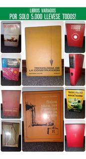 Libros Varios, Incluso Diccionario Y Papel Carbón