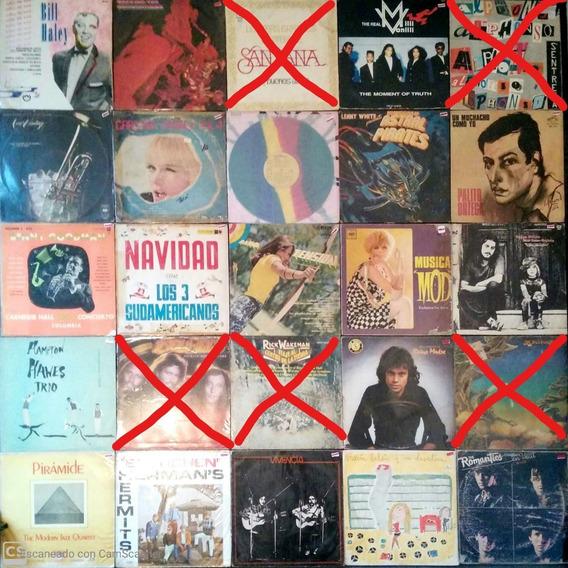 Vinilos Lp Super Promo! Lote Combo De 3 X 1200 Rock Pop Jazz