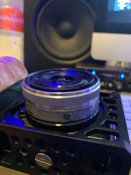 Lente Sony 16mm F/2.8 Com Adaptador Wide Adapter