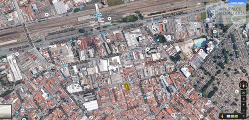 Terreno Comercial À Venda, Belém, São Paulo. - Te0008