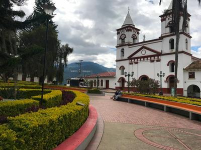 Casa Urbana Fomeque Huerta Casera Jardines Vista Panoramica