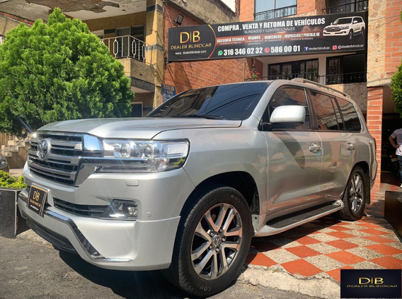 Toyota Land Cruiser 2012 Blindada