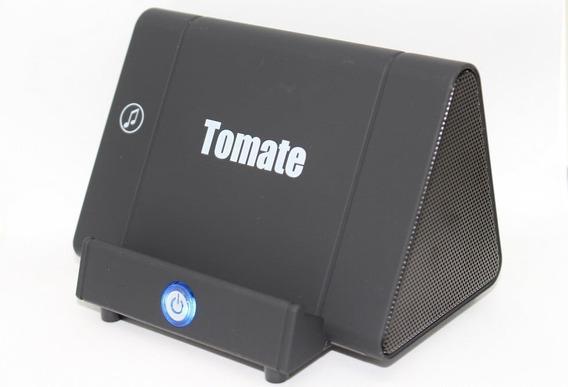 Caixa De Som De Indução 3w Tomate- Para Celular Original