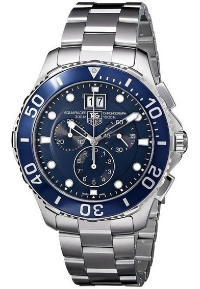 Relogio Tag Heuer Aquaracer Grand Date Can1011.ba0821