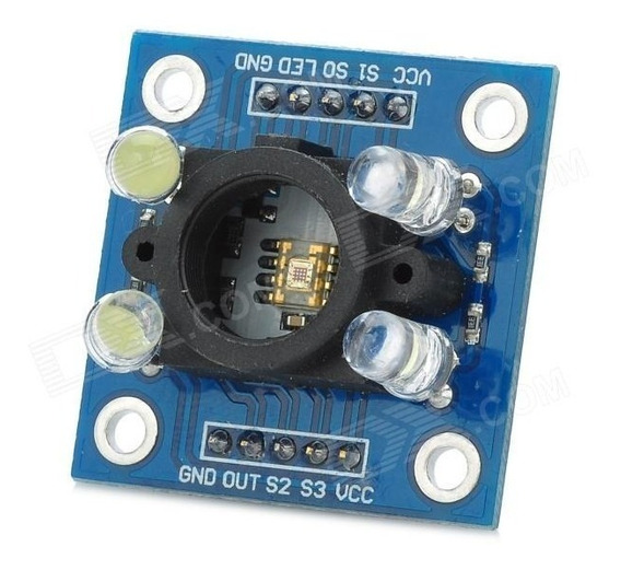 Sensor Cor Cores Rgb Tcs230 Tcs3200 Arduino Gy-31