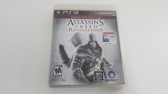 Jogo Assassins Creed Revelations - Ps3 - Original