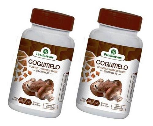 Cogumelo 120 Cápsulas 500 Mg. Agaricus Blazei Sol Promoção