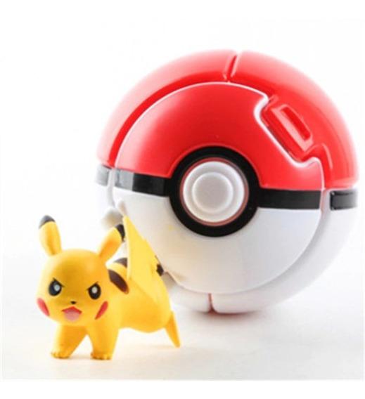 Pokebola Throw And Pop Juguete Pokemón Go