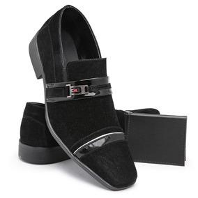 87670c2df Sapatos Social Masculino Camurca De Luxo - Sapatos com o Melhores ...