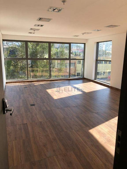 Sala À Venda, 41 M² Por R$ 425.000 - Vila Guiomar - Santo André/sp - Sa0338