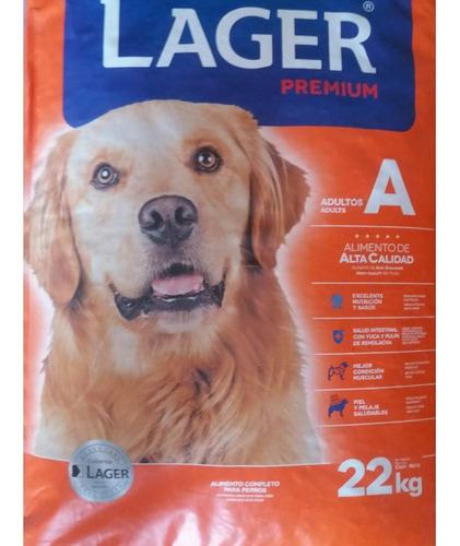 Imagen 1 de 2 de Alimento Lager Perro Adulto 22 Kg + Regalo + Envío
